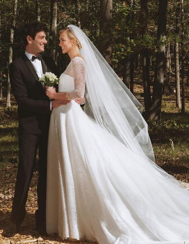 Karlie Kloss se casa com  Joshua Kushner (Foto: Reprodução/Instagram)
