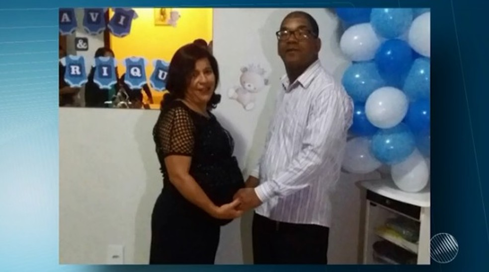 Marizete e o marido Gilmar  (Foto: Reprodução/ TV Sudoeste)