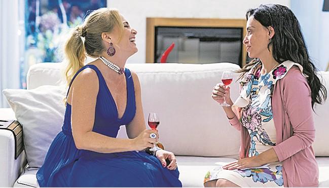 Angélica e Suzana Pires (Foto: Divulgação)