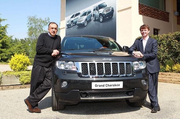 Sergio Marchionne e Mike Manley (CEO Jeep) (Foto: divulgação)