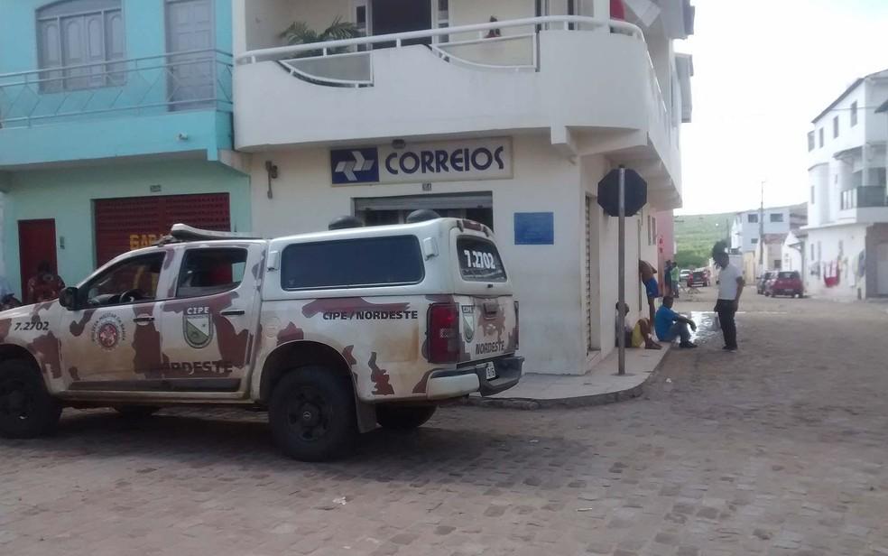 Agência dos Correios em Jeremoabo, no norte da Bahia (Foto: Adalberto Moreno/Jeremoabo Agora )