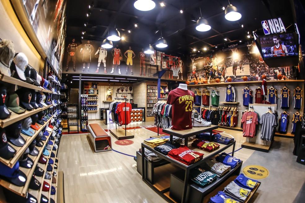 b40121448 ... NBA abre nova loja em São Paulo — Foto  Divulgação