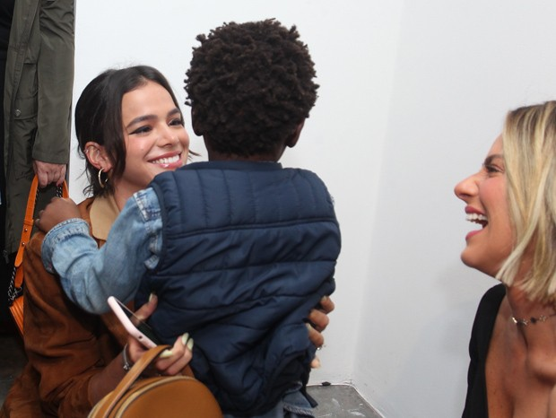 Bruna Marquezine, Titi e Giovanna Ewbank (Foto: Marcelo Sá Barreto/Brazil News)