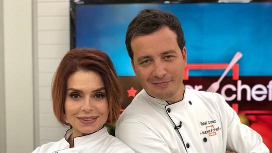 Françoise Forton e Rafael Cortez estão na 2ª Panela de Pressão do 'Super Chef'