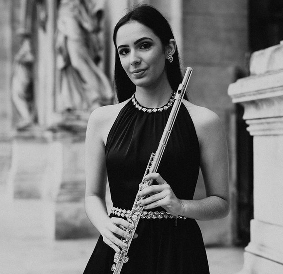Jovem de Jundiaí estuda a música desde os 10 anos — Foto: Meiry Peruch/Divulgação