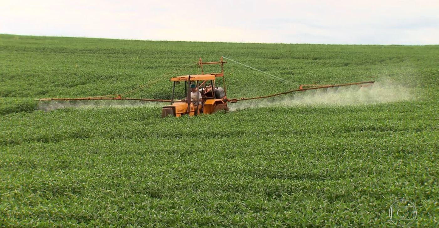 tv_aplicação de agrotóxico (Foto: Reprodução/Globo Rural)