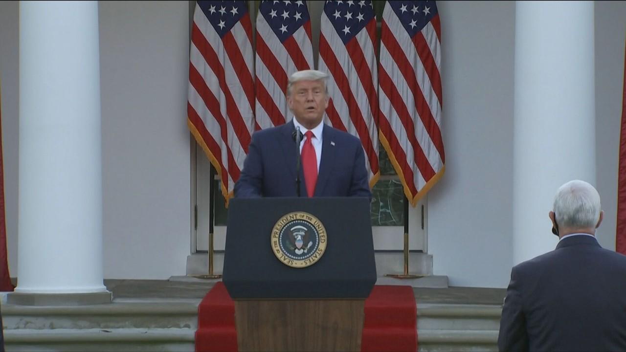 Trump mostra incerteza ao falar do próximo governo
