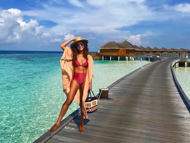 Juliana Paes nas Ilhas Maldivas (Foto: Reprodução / Instagram)