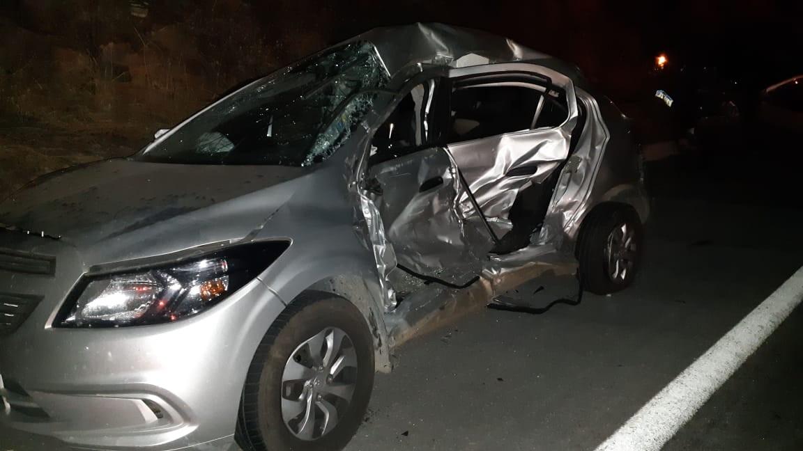 Homem morre após bater em caminhão e carro na BR-304, no RN - Notícias - Plantão Diário