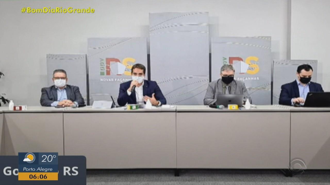 Governo do RS suspende sistema de cogestão e coloca todo estado em bandeira preta