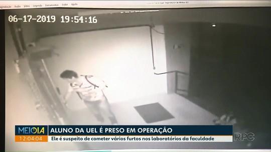 Aluno da UEL é preso suspeito de furtos nos laboratórios da faculdade