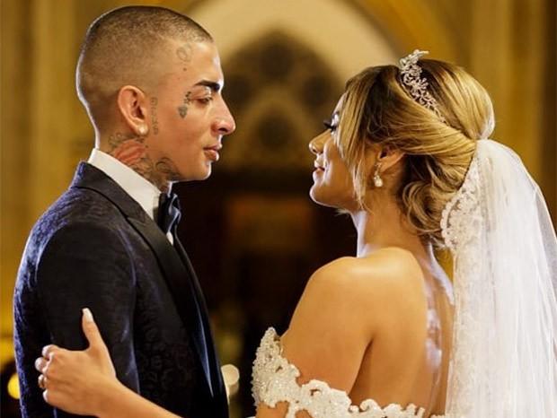 Casamento de MC Guimê e Lexa (Foto: Ricardo Cintra)