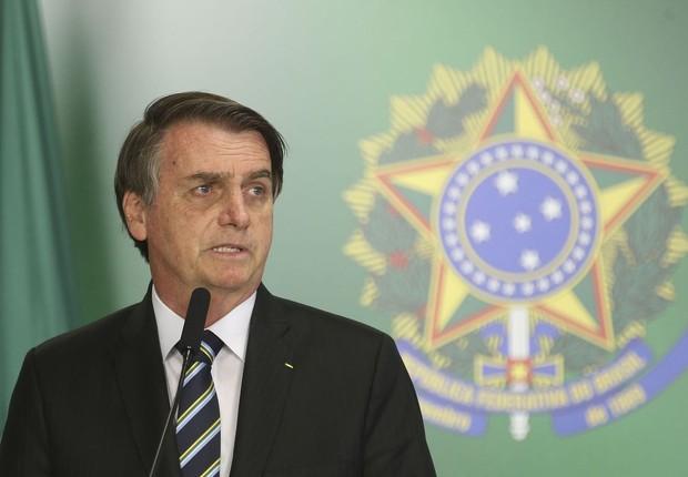 Jair Bolsonaro, Presidente da República (Foto: Antonio Cruz/Agência Brasil)