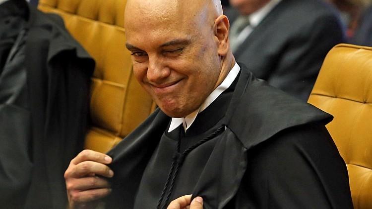 Alexandre de Moraes com o ego nas alturas  (Foto: André Dusek/ Estadão )