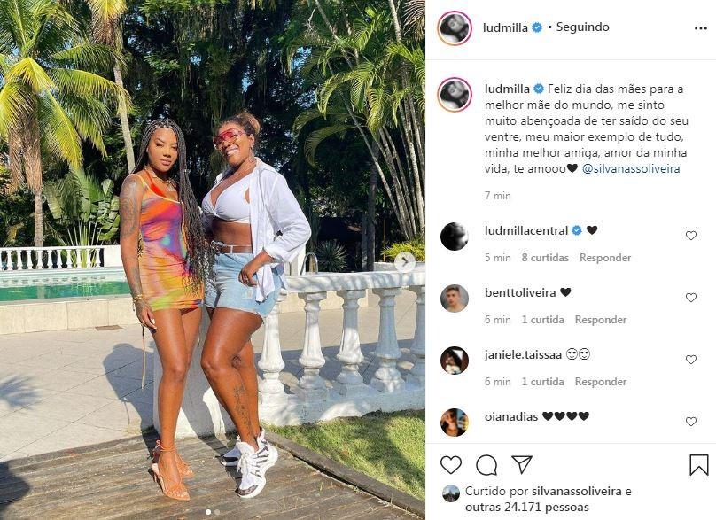 Ludmilla e Silvana (Foto: Reprodução / Instagram)
