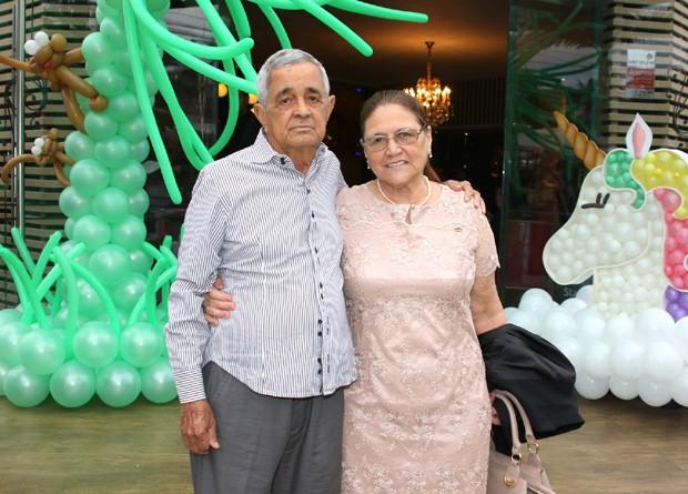 Os pais de Luciano, Francisco e Helena (Foto: Thiago Duran/AgNews)