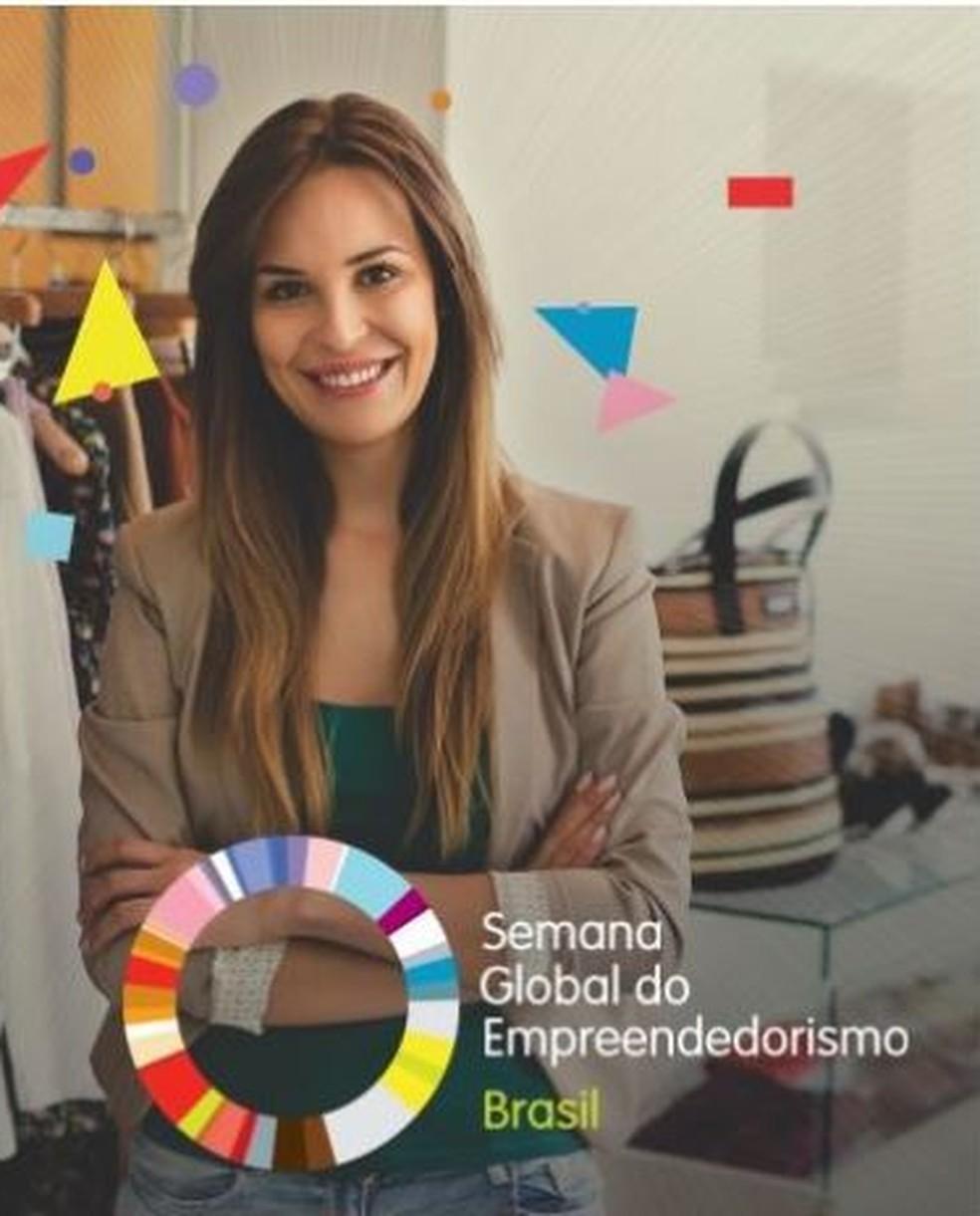 Semana Global do Empreendedorismo — Foto: Assessoria/Divulgação