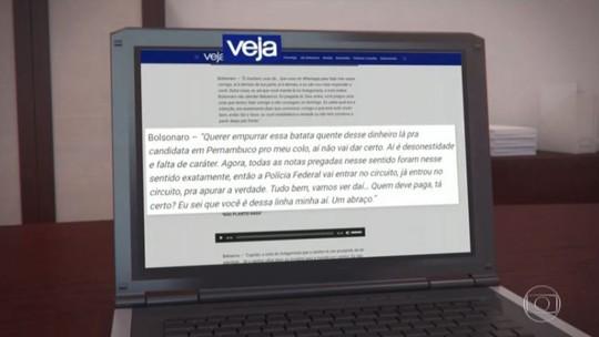 Revista divulga áudios com troca de mensagens entre Bolsonaro e Bebianno