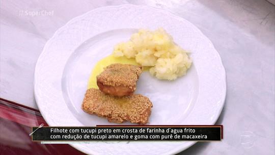 Peixe Temperado com Tucupi Preto da chef Daniela Martins