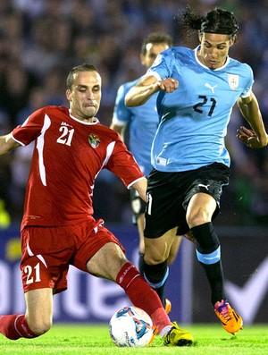 Cavani Uruguai e Jordânia (Foto: Agência Reuters)