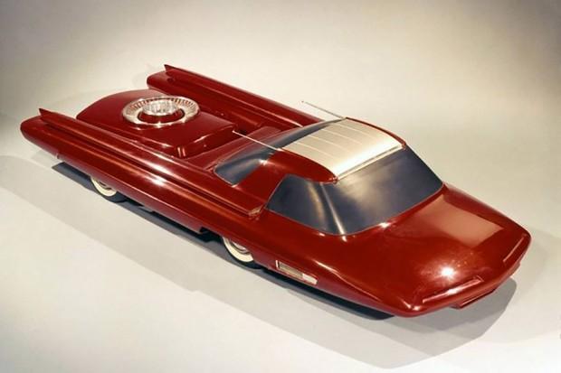 O carro chegou a ser desenhado, foi feita uma miniatura e até um projeto em argila e fibra de vidro. Mas não passou disso (Foto: arquivo)