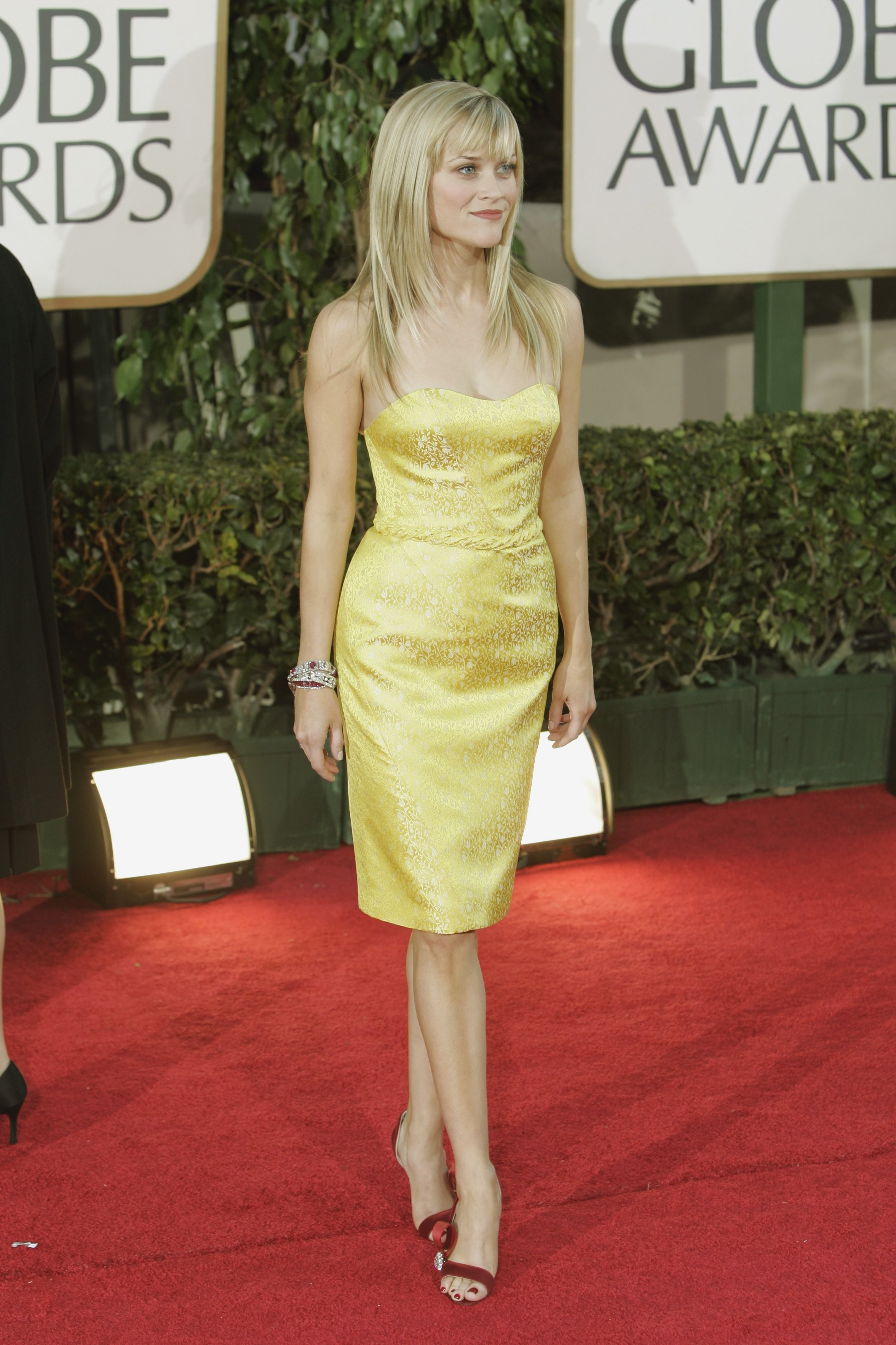 Reese Witherspoon em Nina Ricci (2007) (Foto: Getty Images)