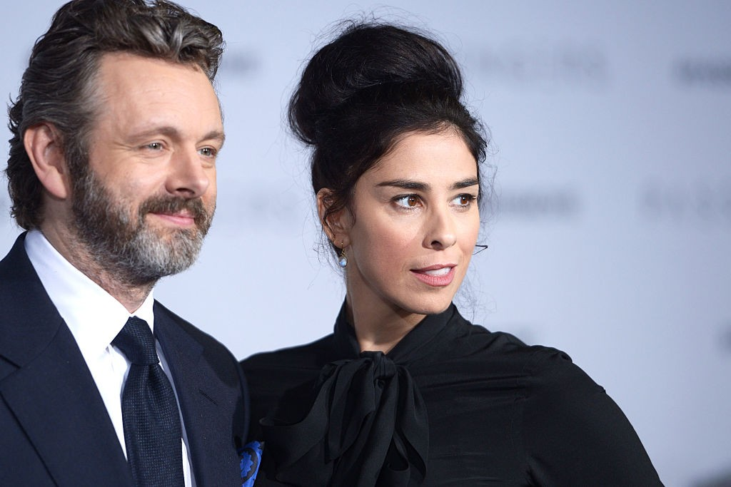 Michael Sheen e Sarah Silverman (Foto: Getty Images)