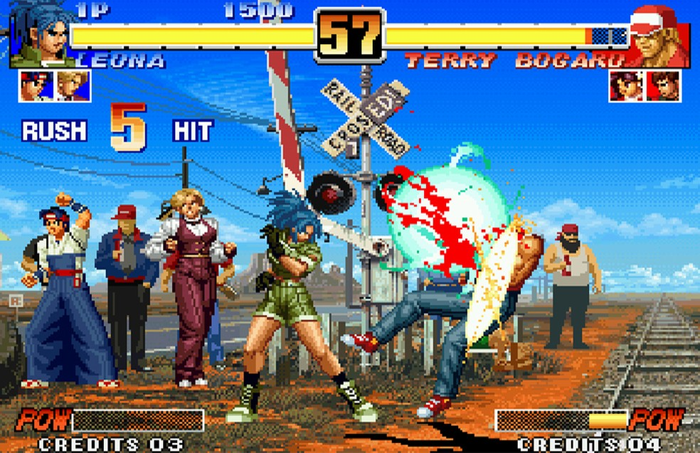 King of Fighters: See the stars of the arcade game