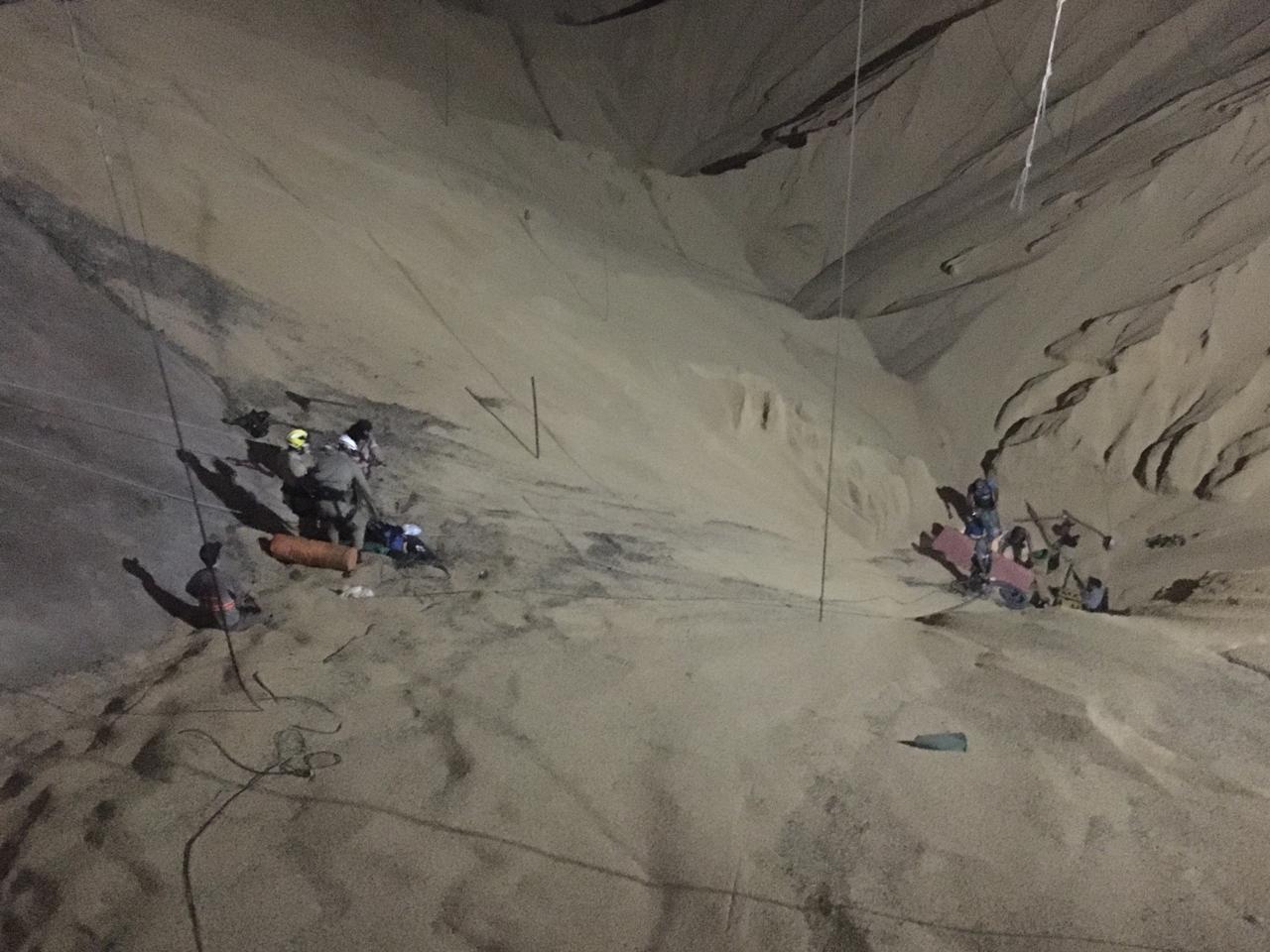 Corpo de trabalhador que foi soterrado em silo de soja é resgatado pelos bombeiros em MT