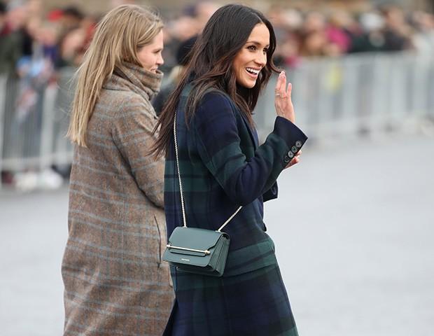 Meghan Markle é a rainha das bolsas incríveis (Foto: Getty Images)