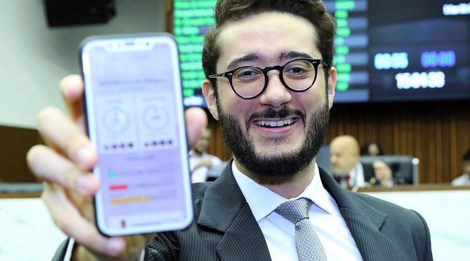 Gabriel Azevedo é fundador da startup Nosso Mandato (Foto: Reprodução/Facebook/Gabriel Azevedo)