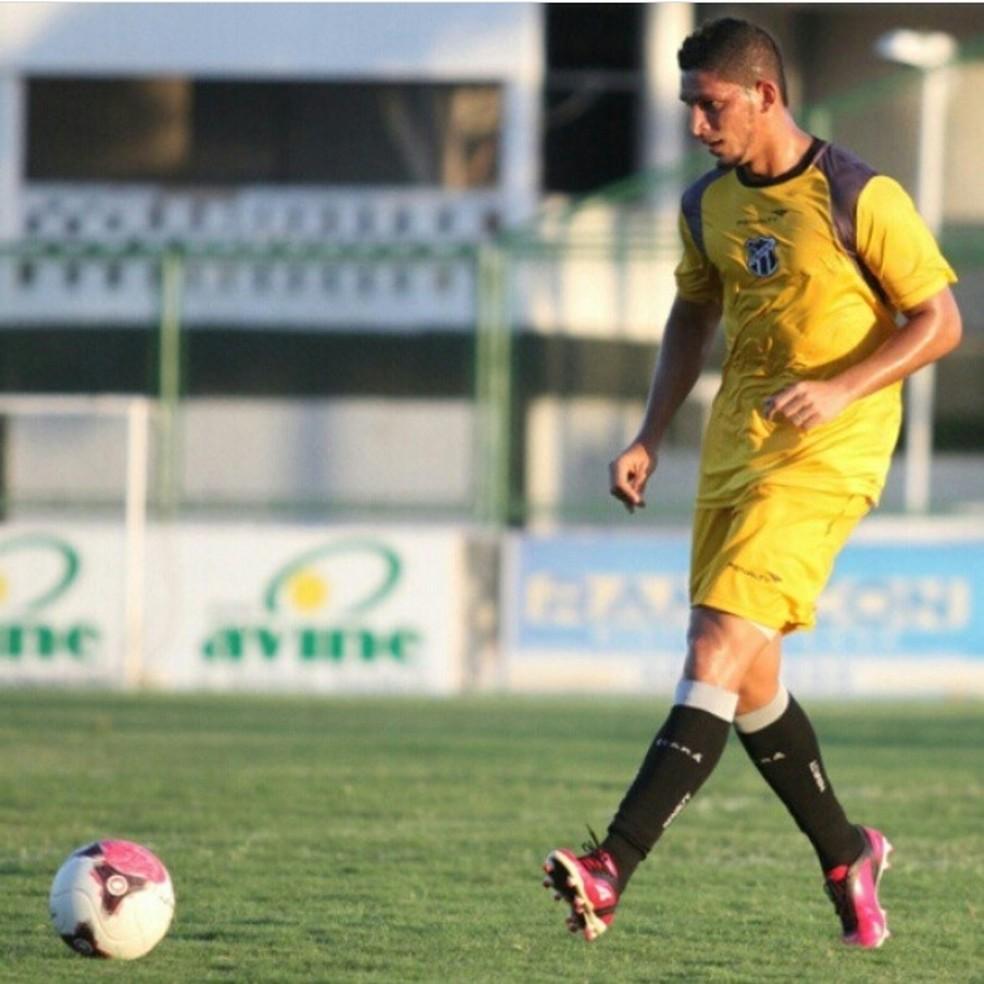 Ex-meia Geovani destaca sonho realizado no futebol — Foto: Arquivo pessoal/Geovani Monteiro