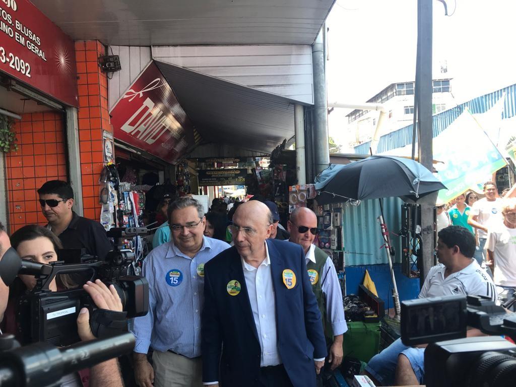 Em campanha no RN, Meirelles promete concluir transposição do Rio São Francisco e recuperar nascentes