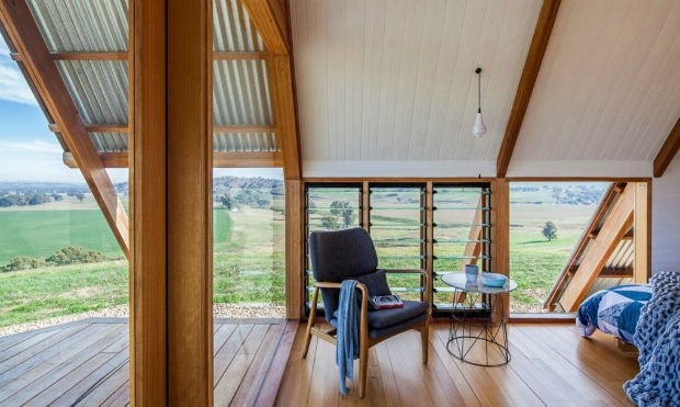 Cabana na Austrália tem visão 360 graus (Foto: Divulgação)