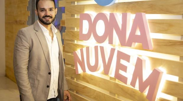 Manoel Neto, fundador da Dona Nuvem, teve a ideia do negócio enquanto viajava para Londres.  (Foto: Fernanda Kirmayr)