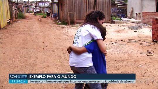Curitibana reconhecida como uma das jovens mais influentes do mundo tem projeto para deixar cidades mais inclusivas para mulheres