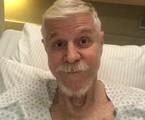 Miguel Falabella no Hospital Sírio-Libanês | Arquivo pessoal