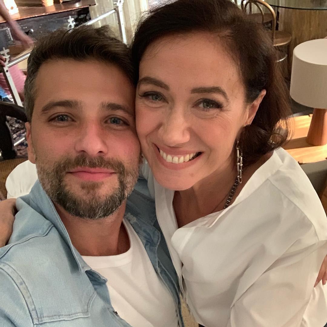 Lilia Cabral e Bruno Gagliasso (Foto: Reprodução Instagram)