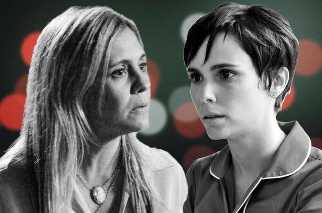 Carminha e Nina  (Foto: Reprodução)