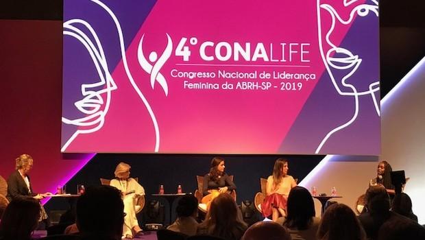 Mulheres discutem inovação e diversidade durante o Conalife (Foto: Patrícia Basílio)