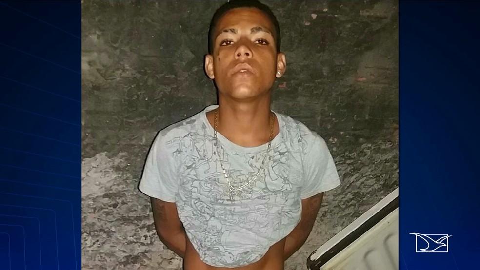 Joabe Frazão foi morto após ter sido espancado pela população, no bairro São Francisco (Foto: Reprodução/TV Mirante)