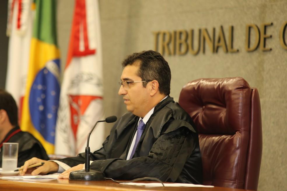 Cláudio Terrão é conselheiro e ex-presidente do Tribunal de Contas do Estado de Minas Gerais (TCE-MG), — Foto: Karina Camargos Coutinho/TCE-MG
