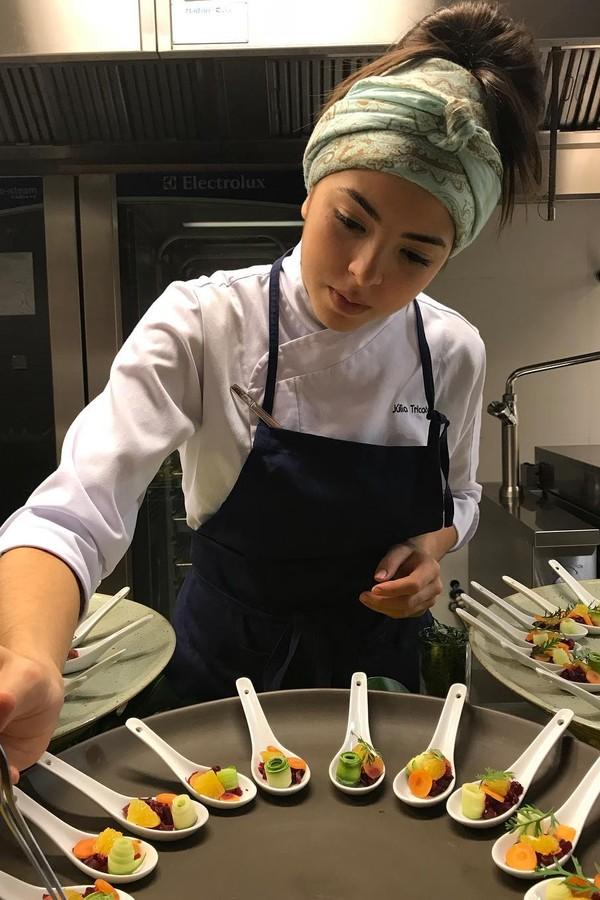Júlia Tricate venceu a terceira temporada do The Taste (Foto: Reprodução)