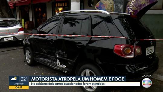 Motorista atropela PM e foge sem prestar socorro na Vila Madalena
