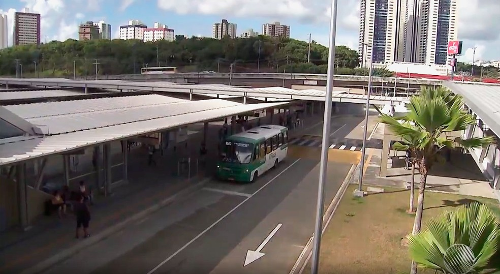 Terminal Acesso Norte (Foto: Reprodução/TV Bahia)