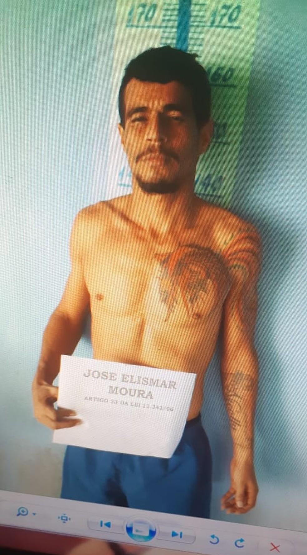 José Elismar Moura — Foto: Divulgação/PM