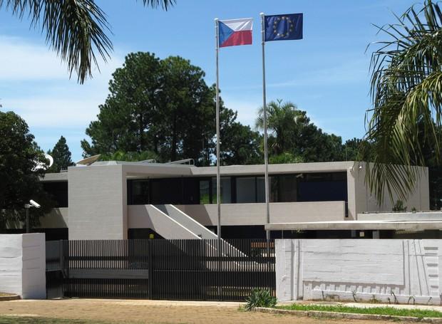 Embaixada da República Tcheca em Brasília (Foto: CristianGamerHD / Wikimmedia Commons)