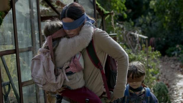 Bird Box: filme foi criticado no Canadá por uso de imagens de acidente real (Foto: Divulgação )