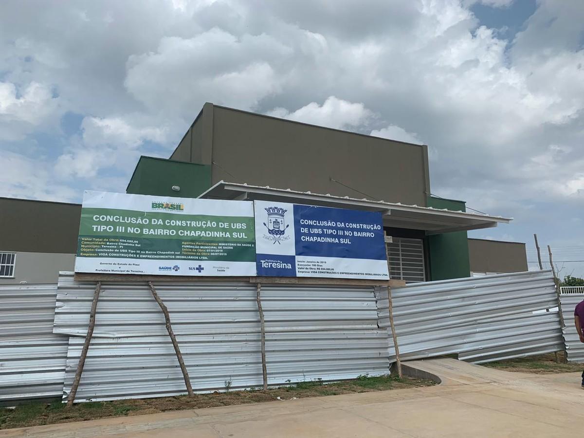 UBS Chapadinha Sul em Teresina não é inaugurada por falta de fornecimento de energia - G1