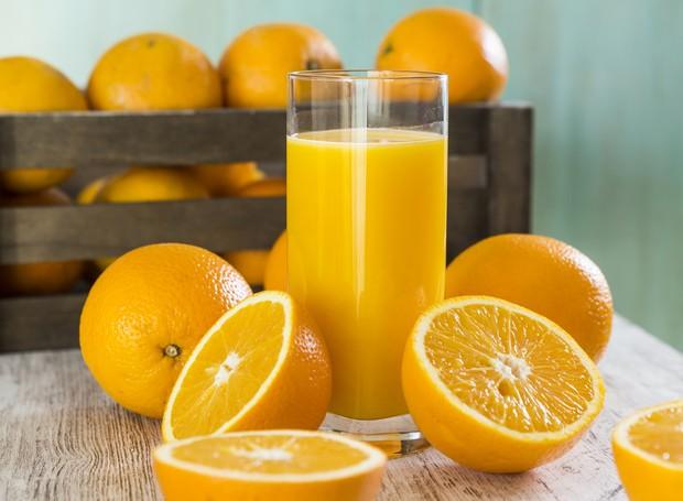 Além de ter Vitamina C, as larajas são ótimas fontes de fibras  (Foto: Getty Images )